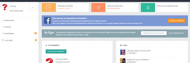 Importez vos événements Facebook sur AgendaCulturel.fr