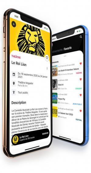 captures d'écran App