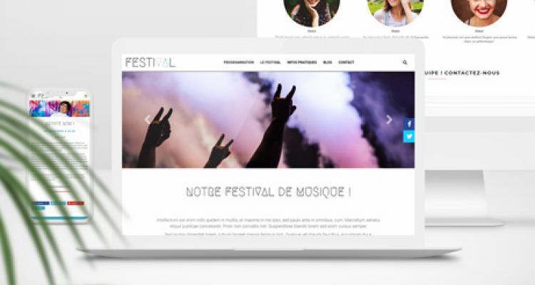 Organisateurs de festival : nous créons votre site web